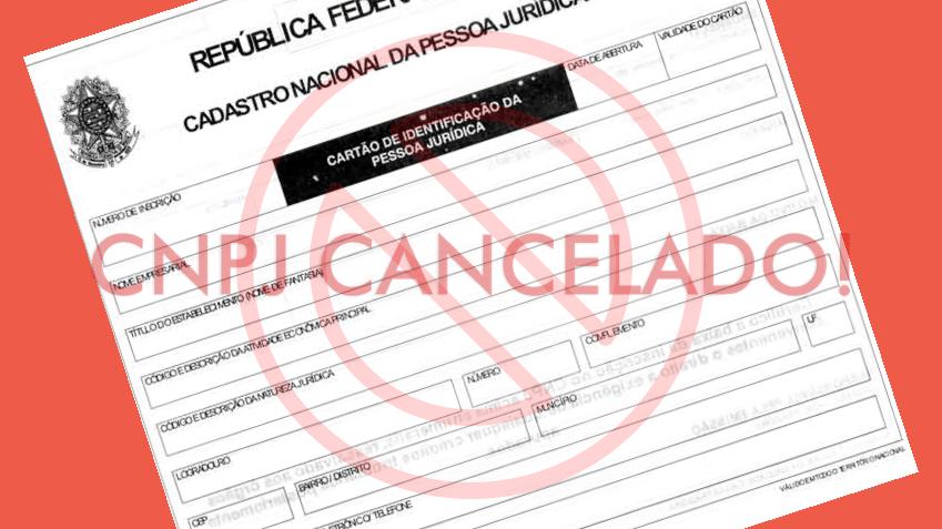 Cancelamento Cnpj